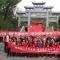 10月6日,青州泰華城員工與志愿者一起至王墳鎮徐家村看望老人