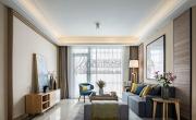 140平的三居室混搭風格裝修實景案例,用色彩營造精彩浪漫生活!